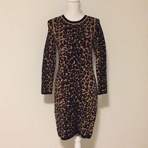 A.L.C. Leopard/Animal Print Knit Dress!!